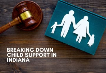 child support in indiana